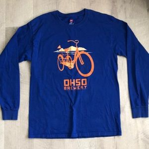 Hanes M OHSO Brewery Long Sleeve Shirt